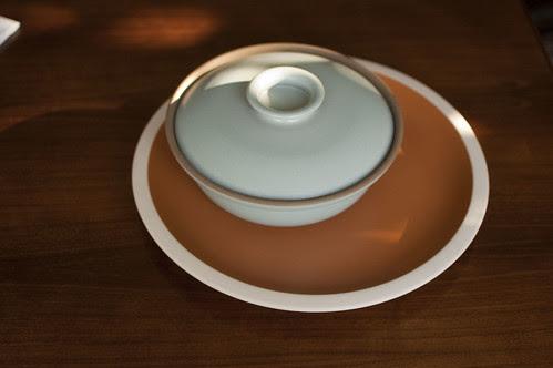 heath platter + covered dish