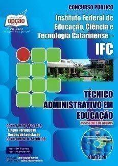 Apostila IFC - Catarinense para Assistente de Alunos.