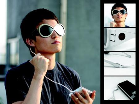 Solar Powered Sunglasses