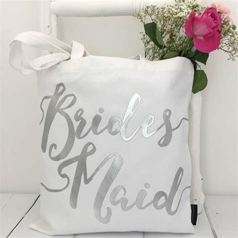 'bridesmaid' wedding bag by kelly connor designs