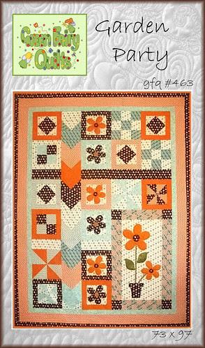 Garden Party Quilt Pattern