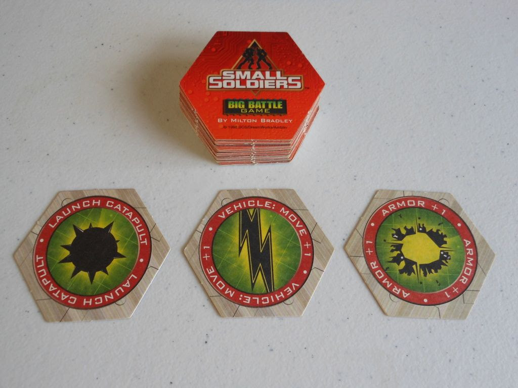Small Soldiers: Big Battle Game cards