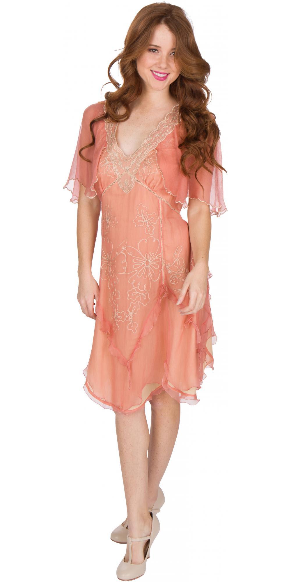 age of love nataya al241 party dress in rosegold