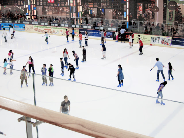 ice skating jcube