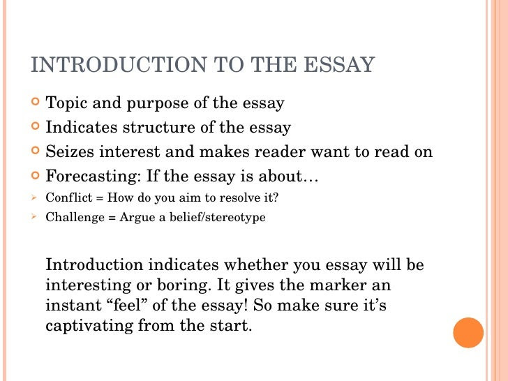 how to writing a good essay