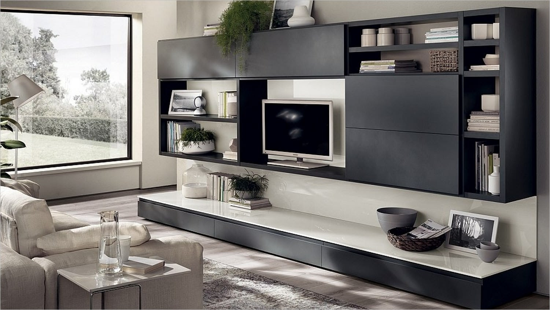 5+ Living Room Cabinet Designs, Decorating Ideas | Design ...