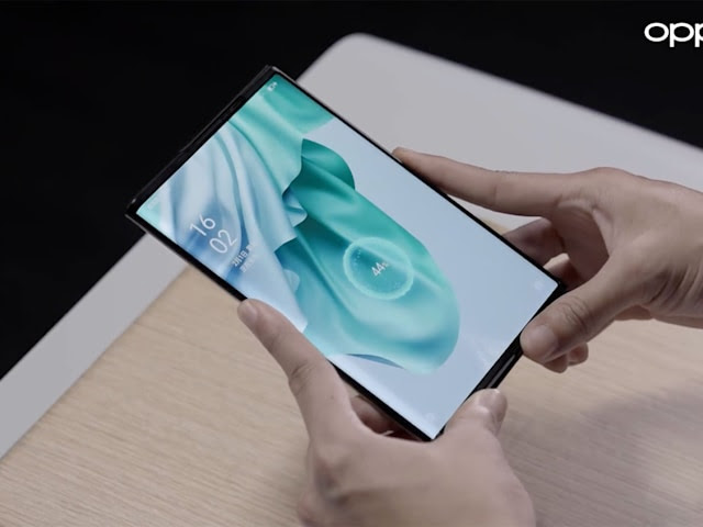 Oppo demos true wireless charging on its rollable phone