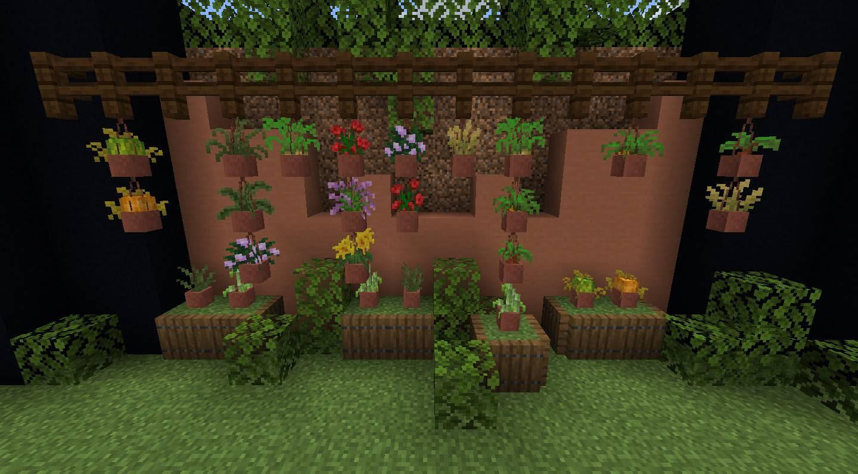 Florist Mod 1 14 4 Put More Items In Flower Pots 9minecraft Net