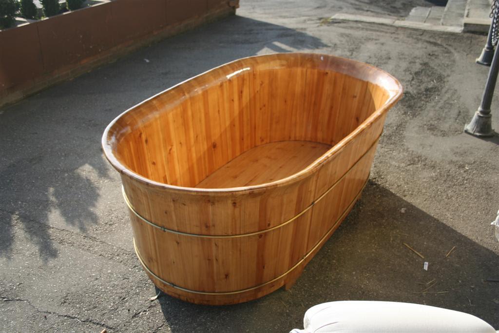 Oggettistica da negozio : Vasca in legno