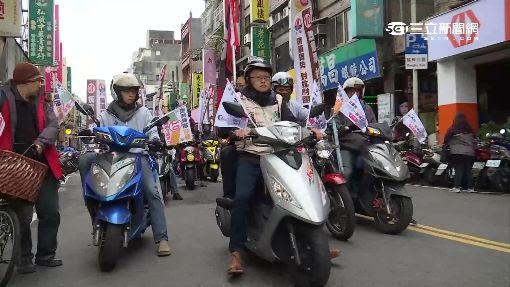 力催政黨票 基進側翼辦「摩托車之旅」