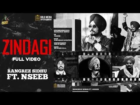 Rangrez Sidhu - ZINDAGI Lyrics ft. Nseeb