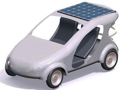 Prototype of Taiwan University's Cheap, Slow Three-seater Solar-powered Car