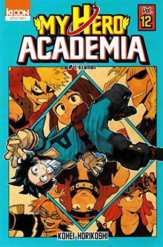 Télécharger My Hero Academia T12 (12) PDF ~ Basara Bookprize