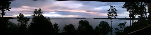 View from our balcony at Tigh-Na-Mara Resort in Parksville, B.C.