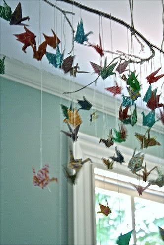 seventy paper cranes