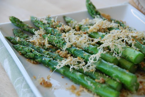 asparagus with cheese