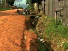 Moradores reclamam de obra inacabada (Reprodução TV Acre)