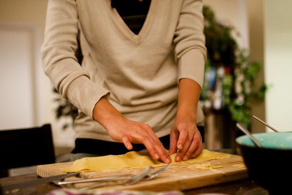 may making ravioli