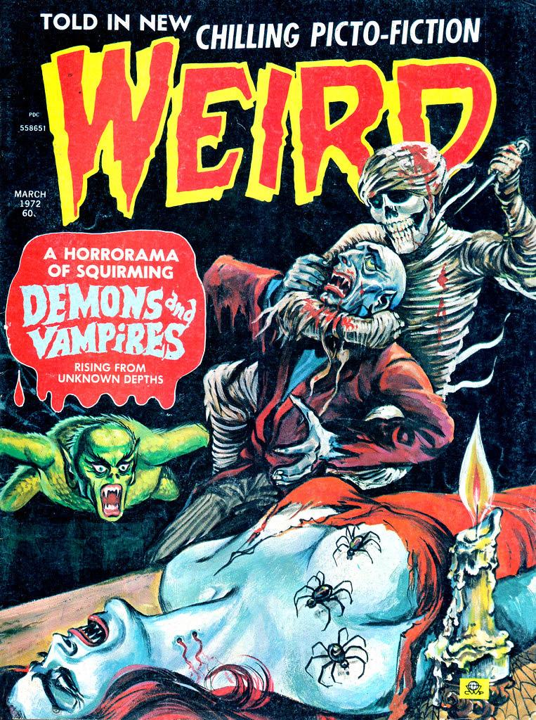 Weird Vol. 06 #2 (Eerie Publications, 1972)