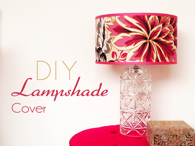 Preciously Me blog : DIY - Lampshade Cover