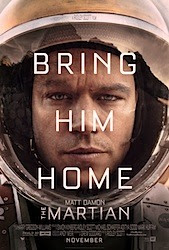 The Martian (3D) Poster