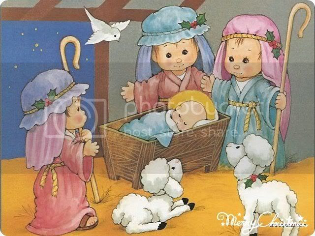 Gambar Animasi Yesus Lahir