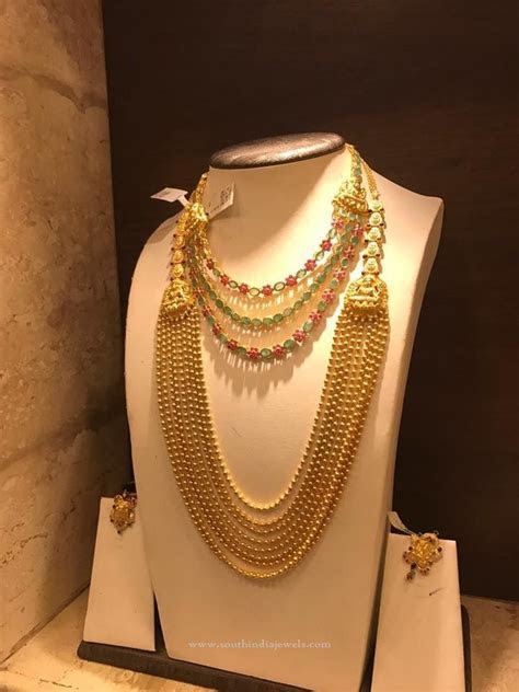 Latest Gold Bridal Jewellery Collections   necklace