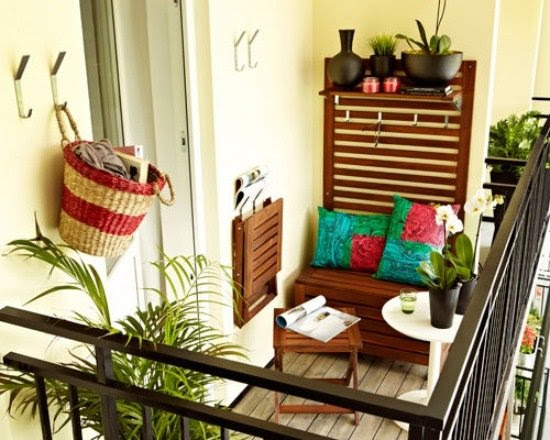 Monster1423: Ideen FÜr Einen Kleinen Balkon Kleinen Balkon Gestalten Ideen