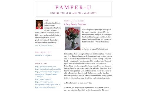 Pamper-U