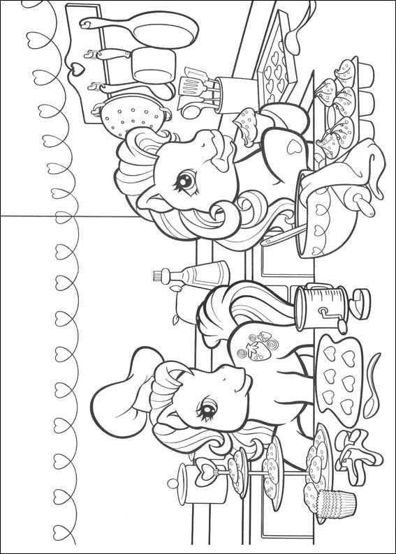 Mewarnai My Little Pony Gif Gambar Animasi Animasi Bergerak