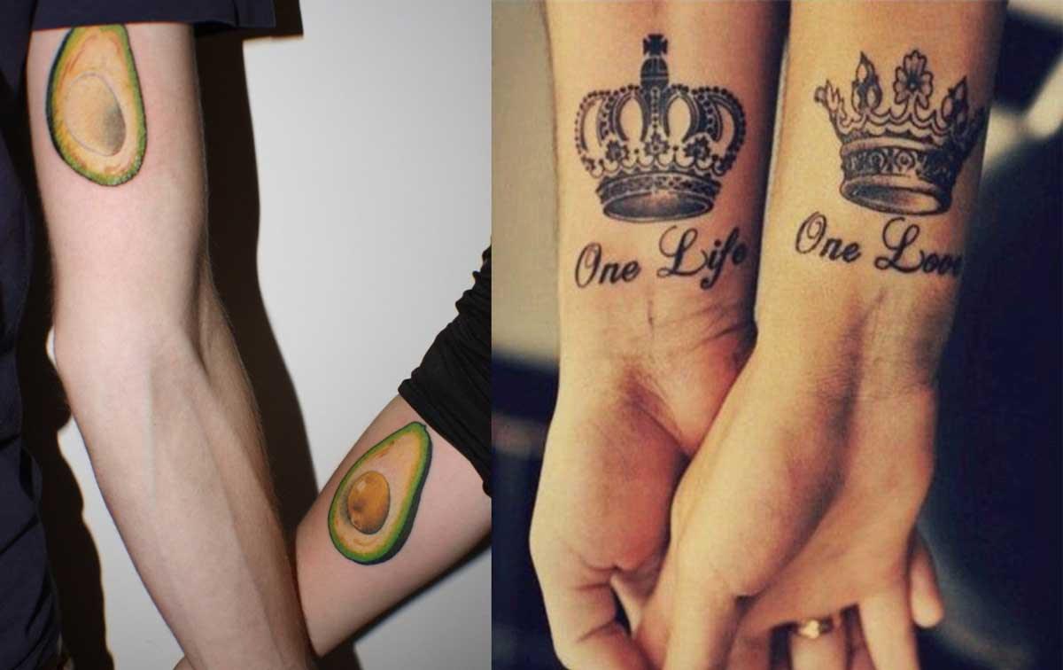20 Tatuajes De Pareja Que Muestran Que El Amor Verdadero Dura Para