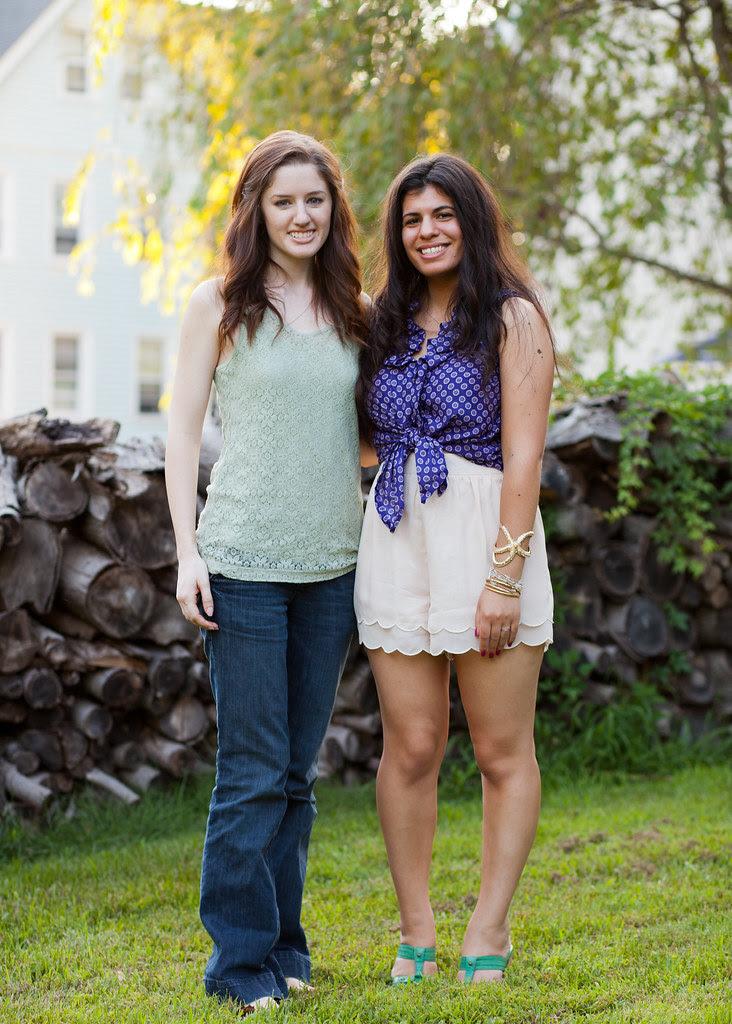 Lydia and bethany