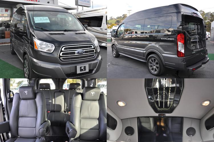 Custom Ford Conversion Vans For Sale