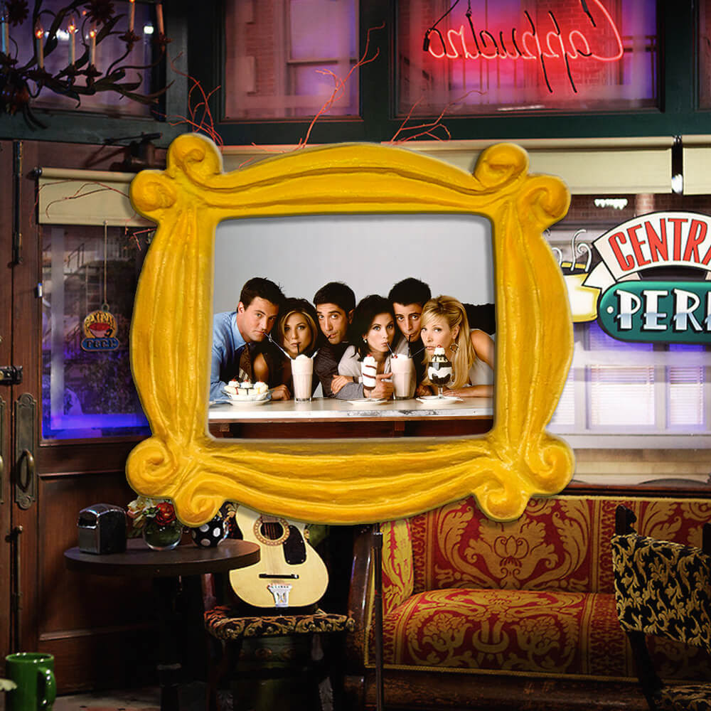 Friends Show Frame Mini Fridge Magnet 90s Tv Show Monicas