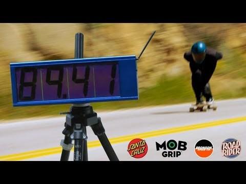 record du monde de vitesse en longboard records du monde. Black Bedroom Furniture Sets. Home Design Ideas