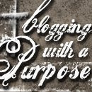 Blogging with a purpose award