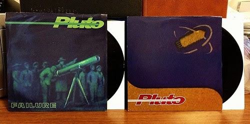 "Pluto - Failure 7"" & Deathstar 7"" by Tim PopKid"