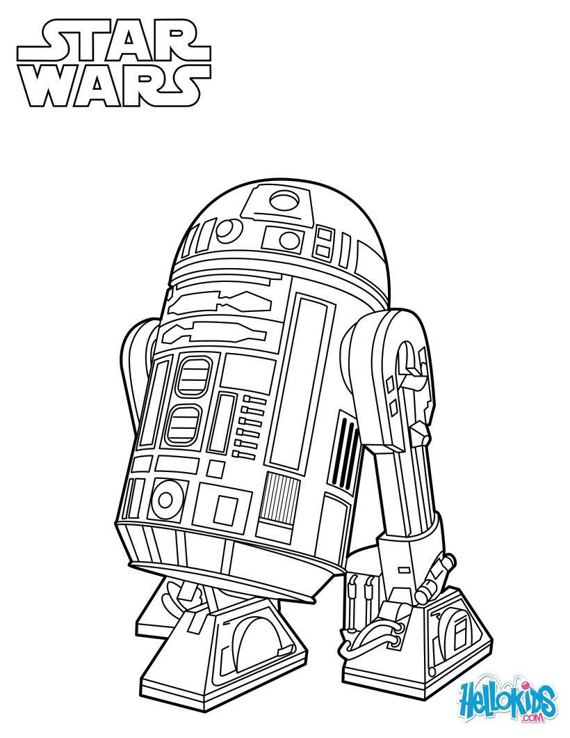 r2 d2 star wars coloring page 2u4
