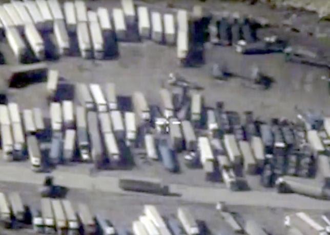 Hình ảnh Mỹ: IS bán dầu cho cả Syria và Thổ Nhĩ Kỳ số 1