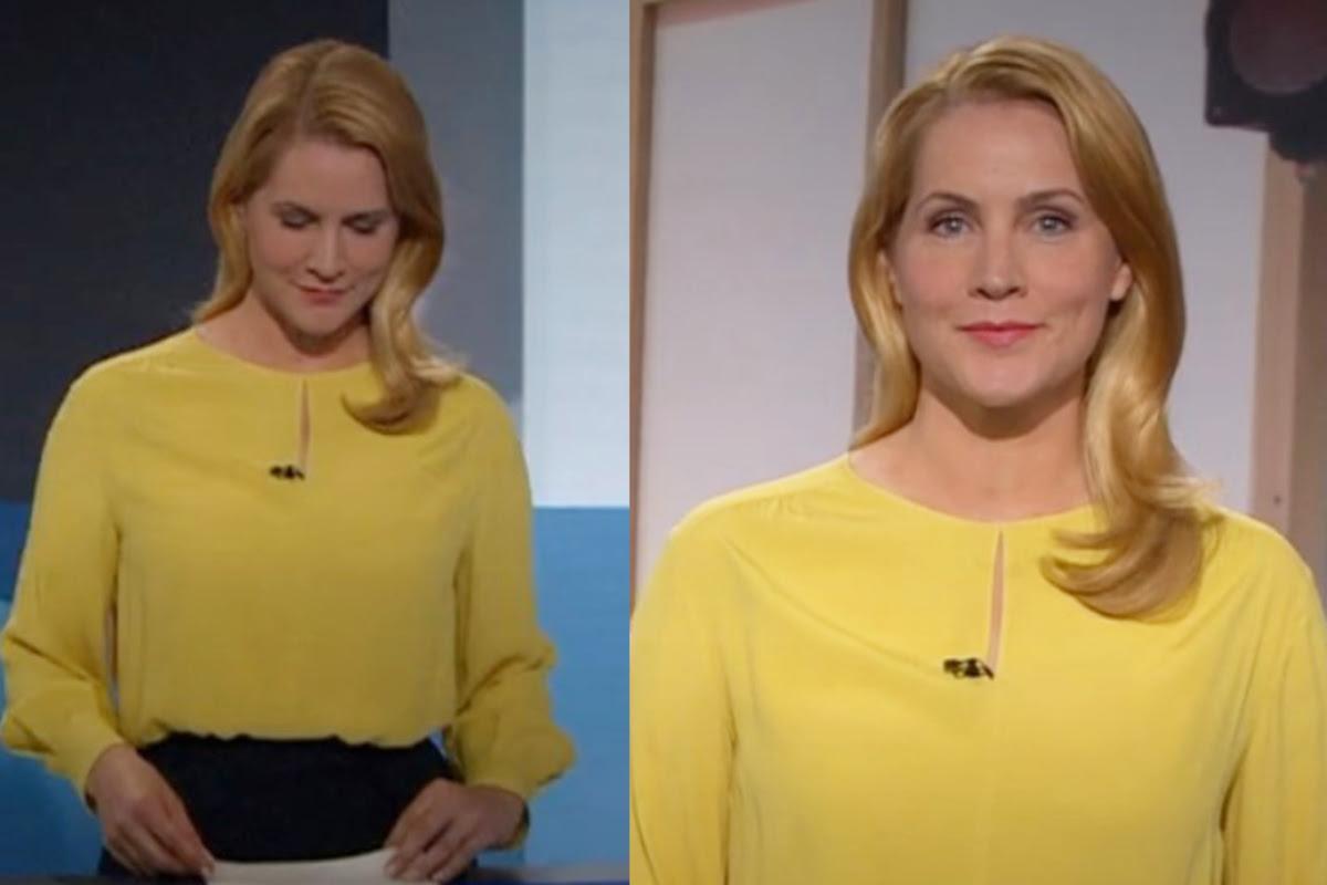 Judith Rakers: War ihre gelbe Bluse bei der Tagesschau ein geheimes Zeichen?