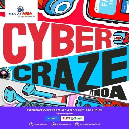 Cyber Craze at SM Mall of Asia from July 15 to August 31