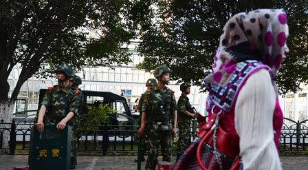 Trung Quốc, Tân Cương, bạo loạn