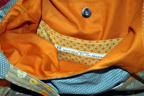 Go Anywhere Bag - inside pocket