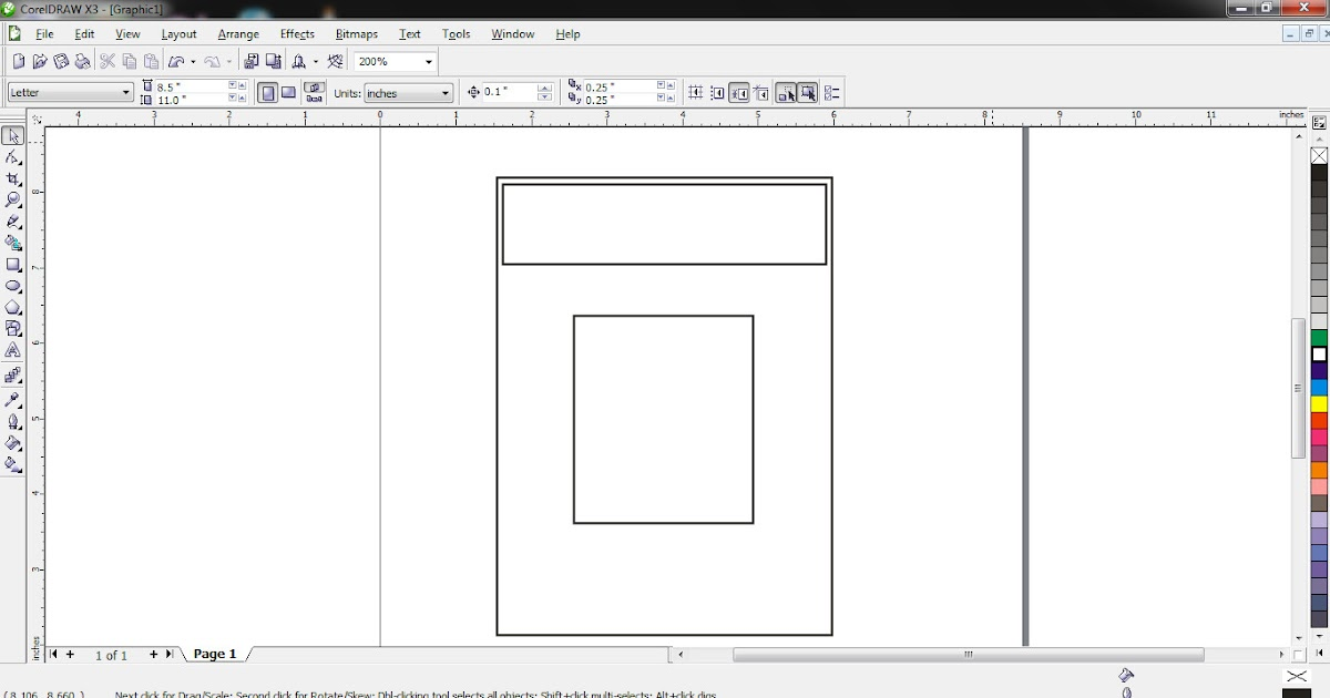 How to design a simple ID card in Coreldraw ~ KENWOOD CONCEPT
