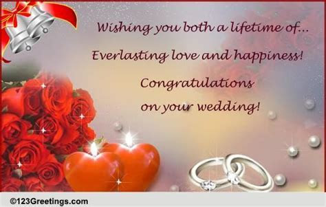 Wedding Cards Free Wedding Wishes Greeting Cards 123