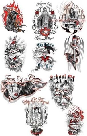 Bulls Eye Military Tattoo