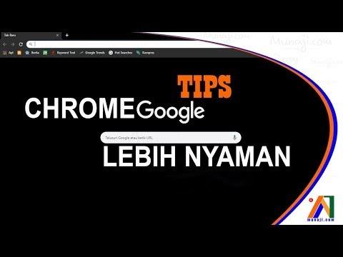 Membuat Google Chrome dengan tampilan menarik