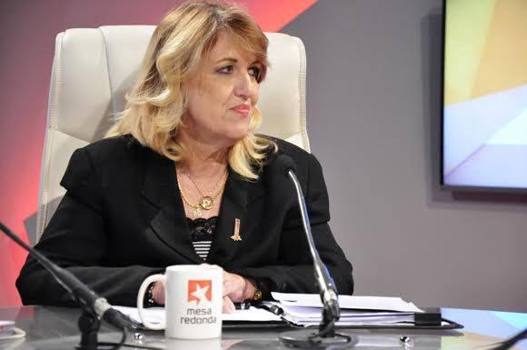 La Viceministra Primera del Banco Central de Cuba (BCC), Irma Martínez Castrillón.