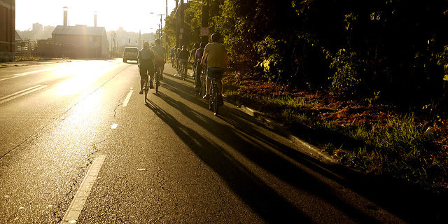 Gastropub bike ride