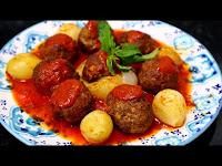 Fırında Soğanlı Köfte Kebap Tarifi - Kolay Doğal Yemek Tarifleri